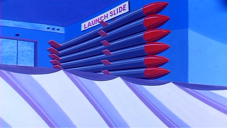 Cloud Buster Launch Slide