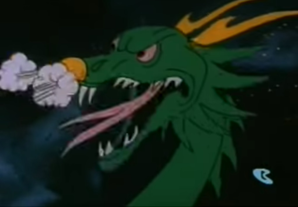 Dragon-like beast