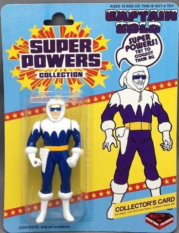 Captain Cold (Super Powers figure)