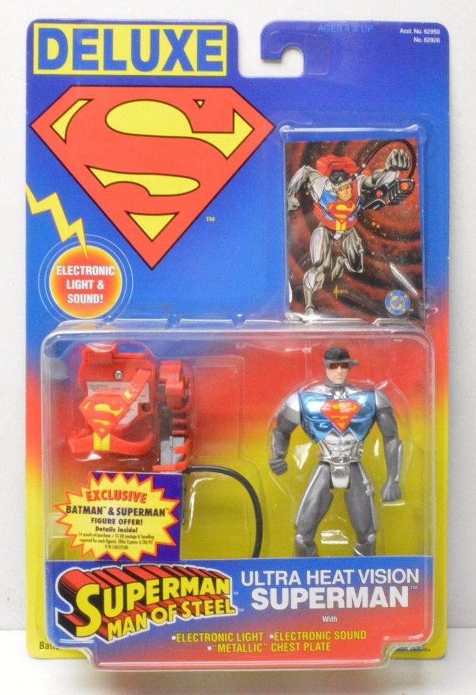 Ultra Heat Vision Superman