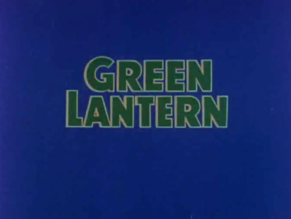 Green Lantern (TV Series)