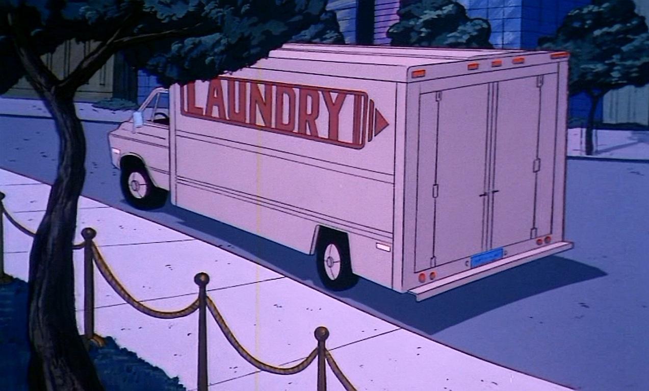 Gotham City Police surveillance truck