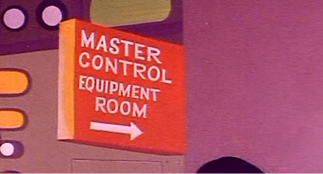 Cape Courageous Master Control Equipment Room