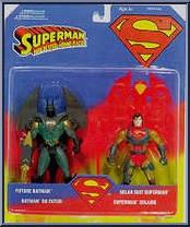 Solar Suit Superman & Future Batman