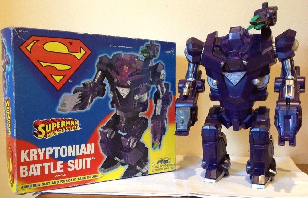 Kryptonian Battle Suit (Superman: Man of Steel toy)