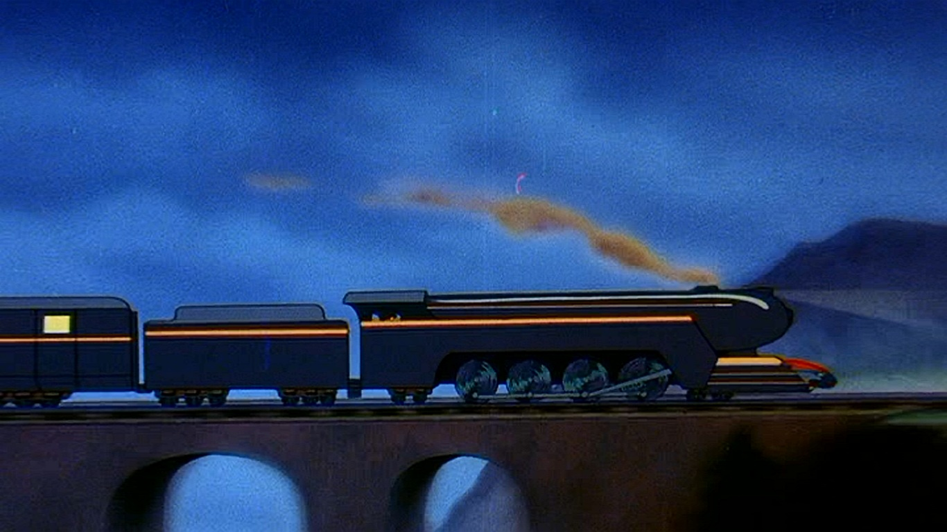 Gold Transport Train
