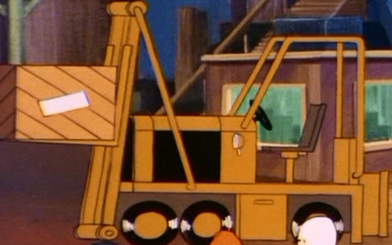 Forklift (Professor Goodfellow's G.E.E.C.)