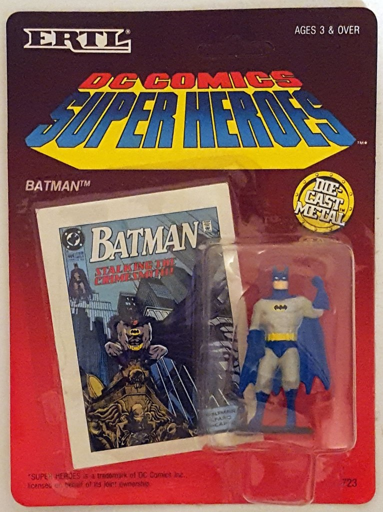 Batman (DC Comics Super Heroes - Die-cast metal figure)