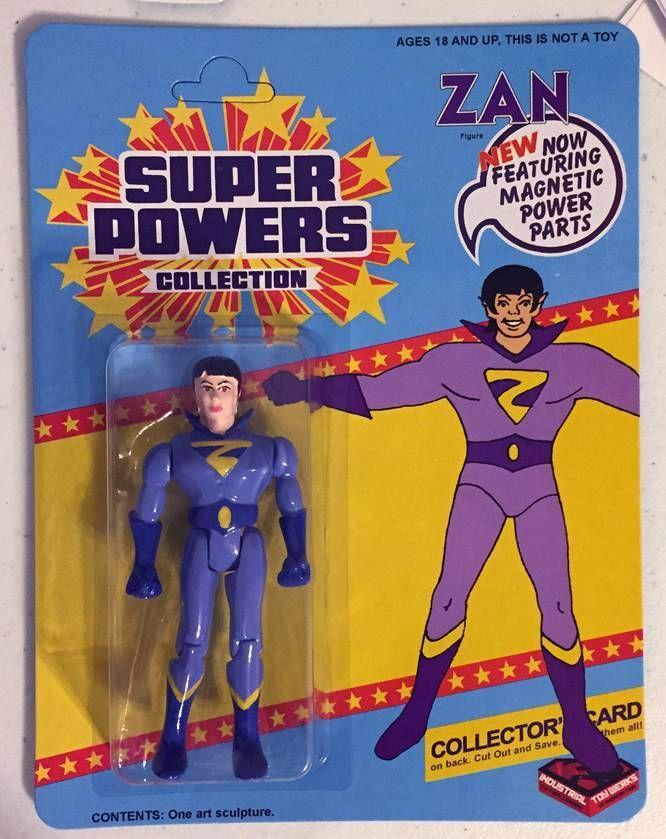 Zan (Super Powers figure)