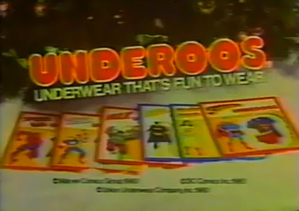 Underoos commercials
