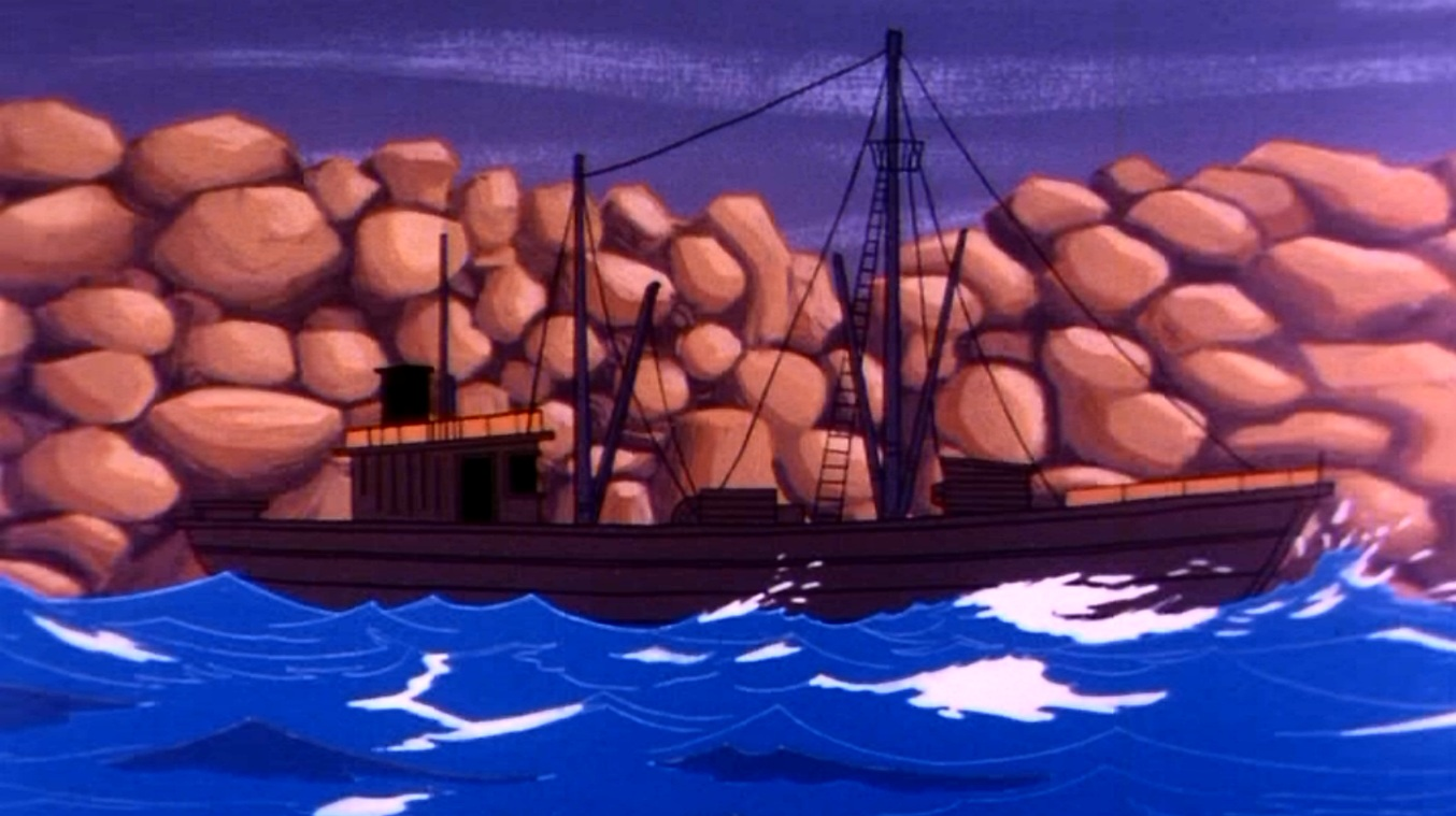 Fishing boat (The Weather Maker)