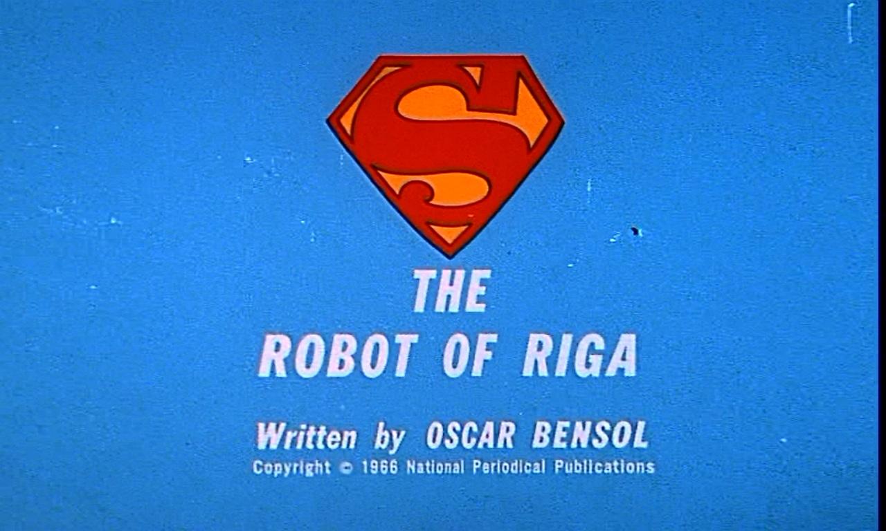 The Robot of Riga
