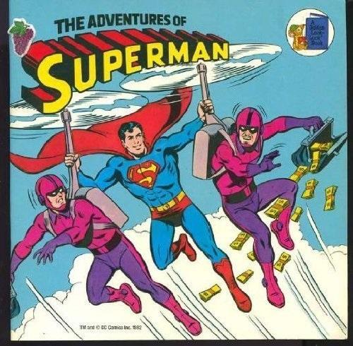 The Adventures of Superman (A Golden Look-Look Book)