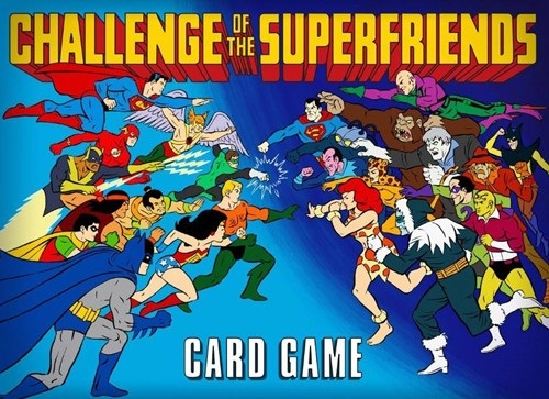 Challenge of the Superfriends - Card Game