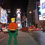Aquaman Dance Party - Times Square