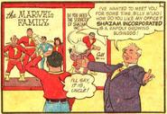 Marvel Family (Cap Marvel Adv 43)