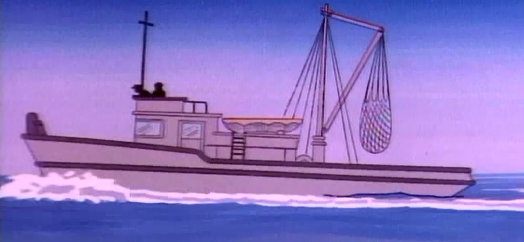 Fishing boat (The Fantastic FRERPs)