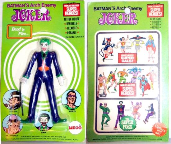 Joker (World's Greatest Super-Heroes!) (Bend n' Flex)