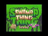 """Swamp Thing"" animated series Fox Kids promo"