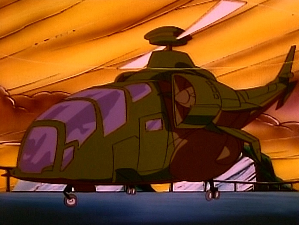 Grifter's stolen chopper
