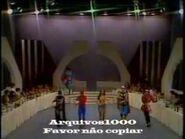 Super Herois cantam Viemos de Longe - Almoço com as Estrelas - TVS-SBT - 22-05-1982