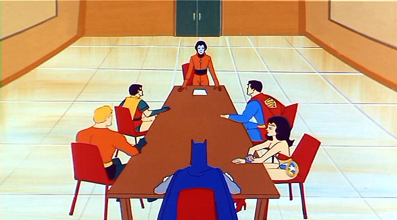 Justice League Meeting Room