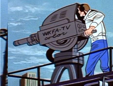WKFA-TV's cameraman