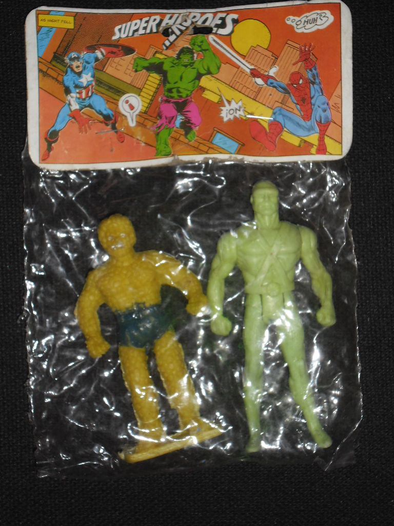 Thing and Martian Manhunter (Superheroes figures)