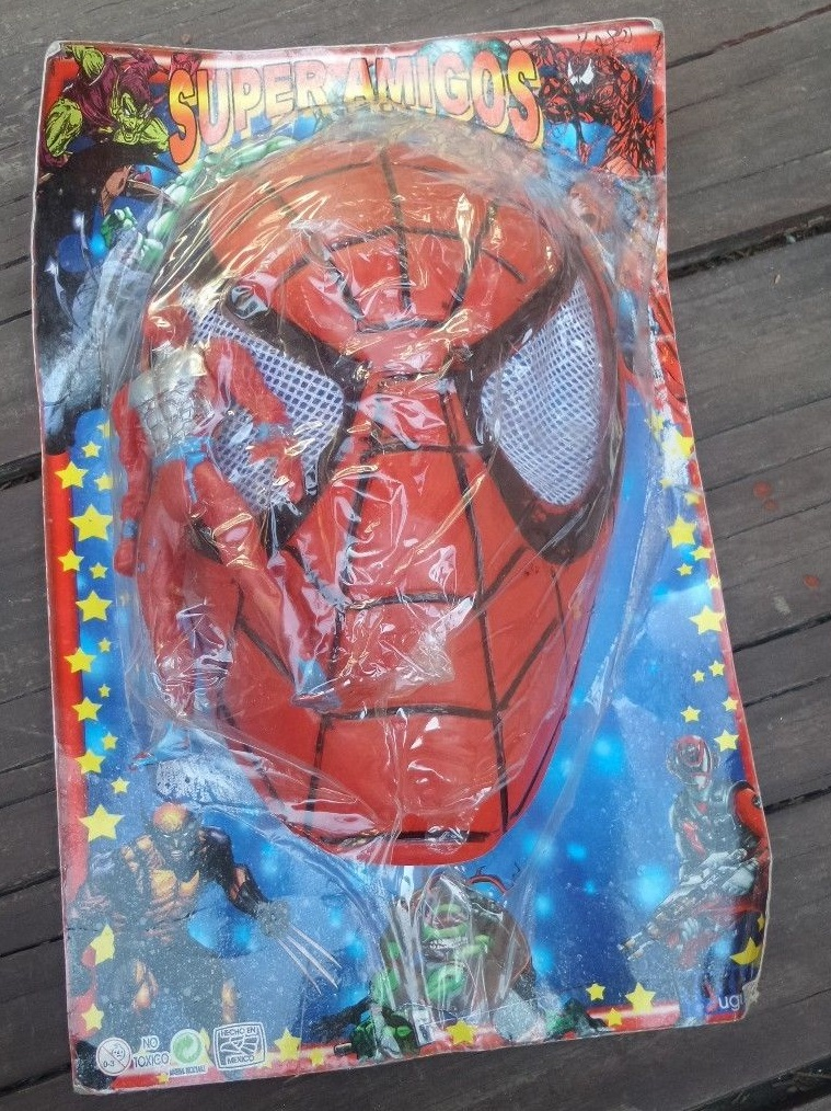 Spider-Man (Super Amigos figure and mask)