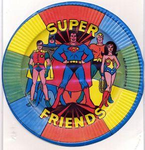 Super Friends party supplies