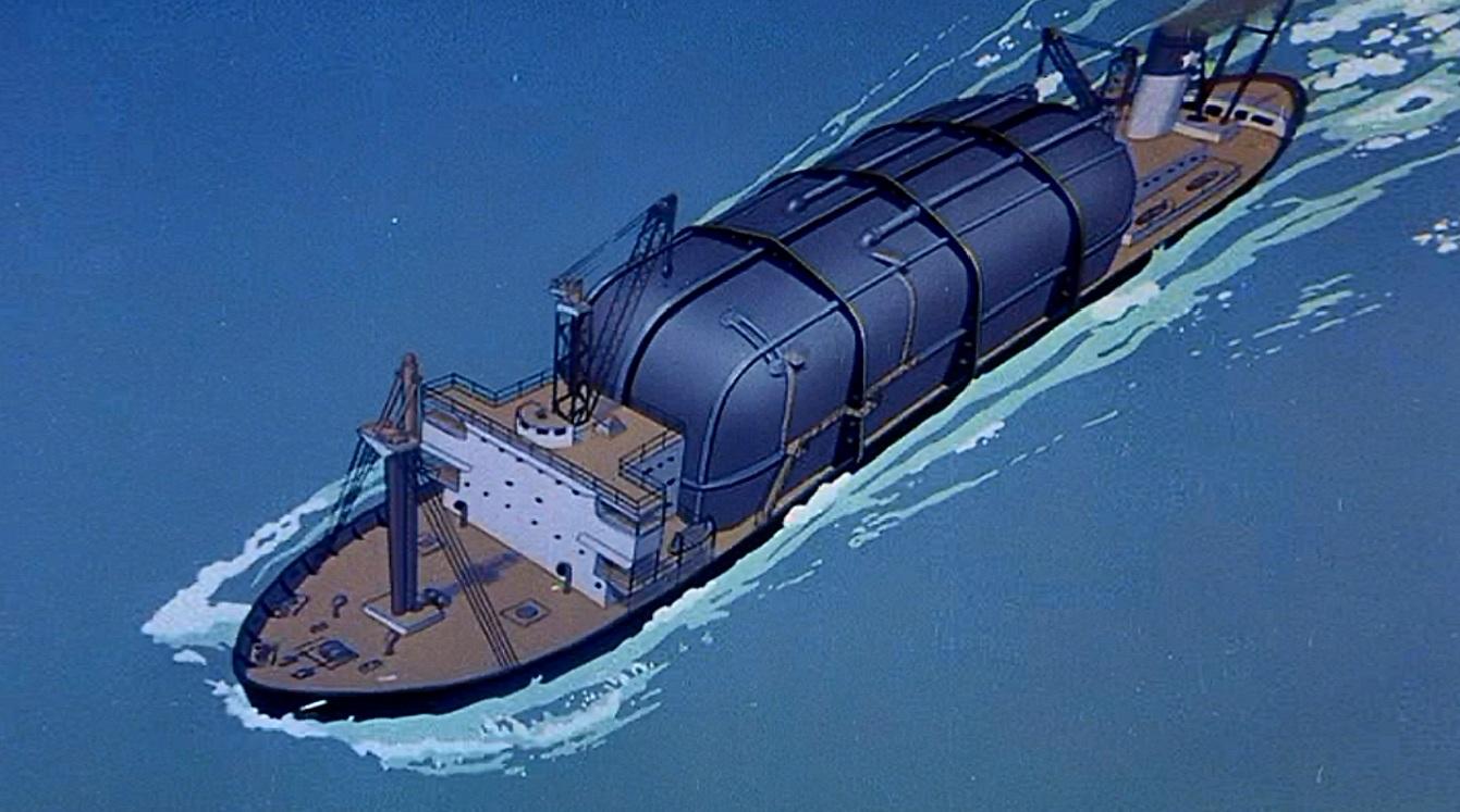 Refrigeration freighter