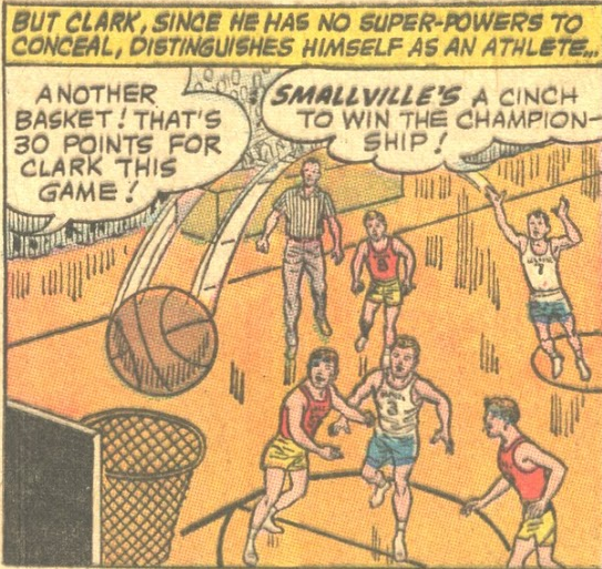 Smallville High Basketball Team