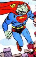 Superman Humanoid Lizard