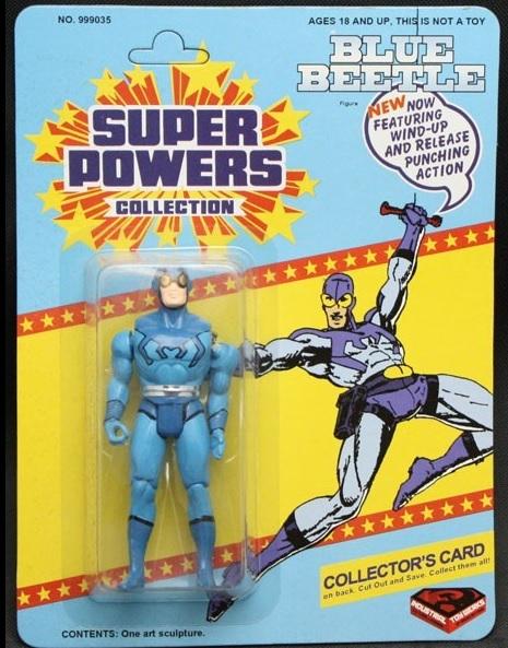 Blue Beetle (Super Powers Action Figure)