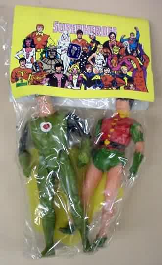 Green Lantern and Robin (Super Powers figures)