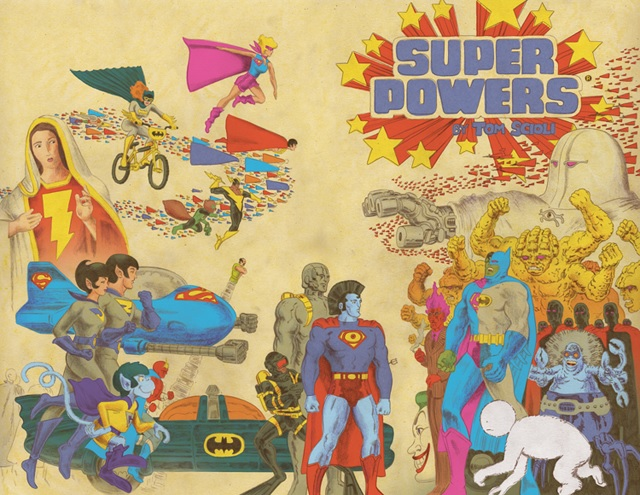 Super Powers (by Tom Scioli)