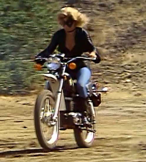 Black Canary's motorcycle