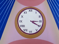 Hall Wall Clock (01x05 - Dr. Pelagian's War)