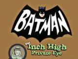 Batman and Inch High, Private Eye