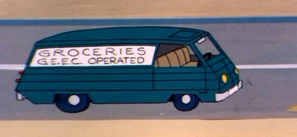 G.E.E.C. Grocery van