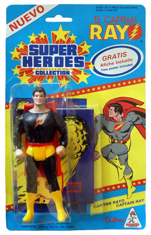 Captain Ray (SuperPowers Figure)
