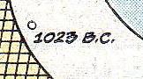 1023 BC