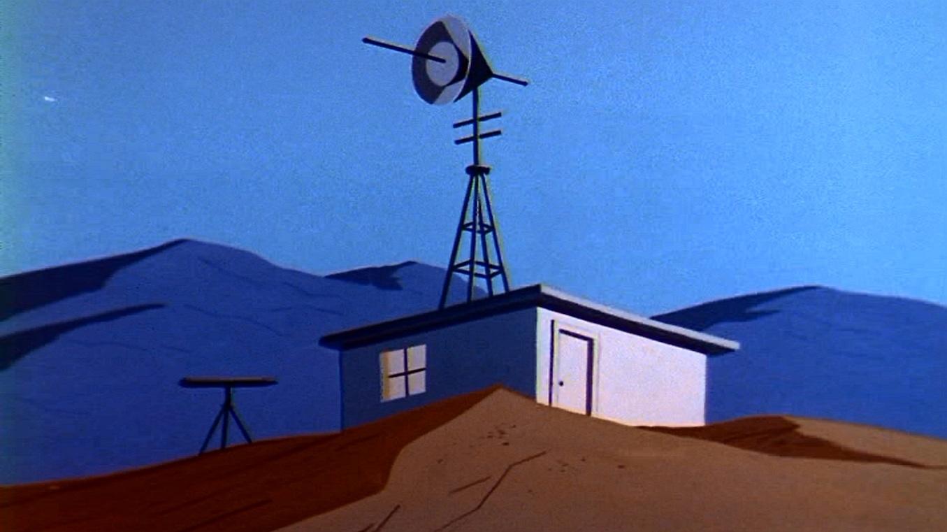 Lex Luthor's laboratory hideout