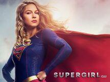 Супергёрл. Постер к 4 сезону