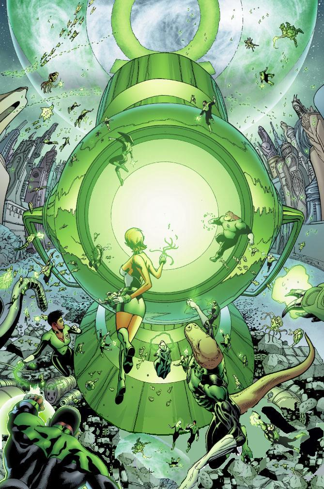 Green Lantern Central Power Battery