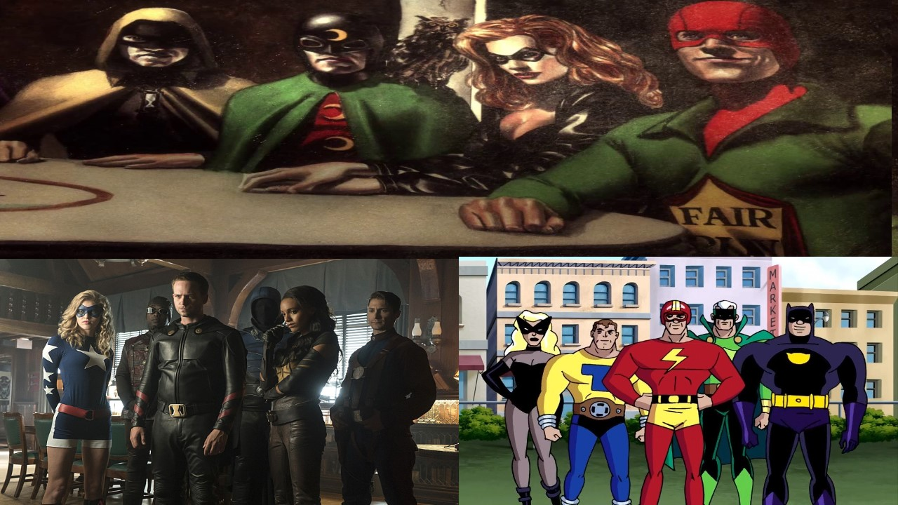 Justice Society of America in other media