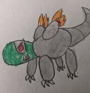 Robo reptile