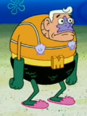 Mermaid Man