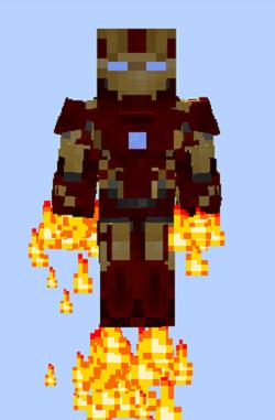 Iron Man (Mark 43) Minecraft Legends Mod Wiki Fandom