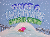 What a Nightmare, Charlie Brown! credits